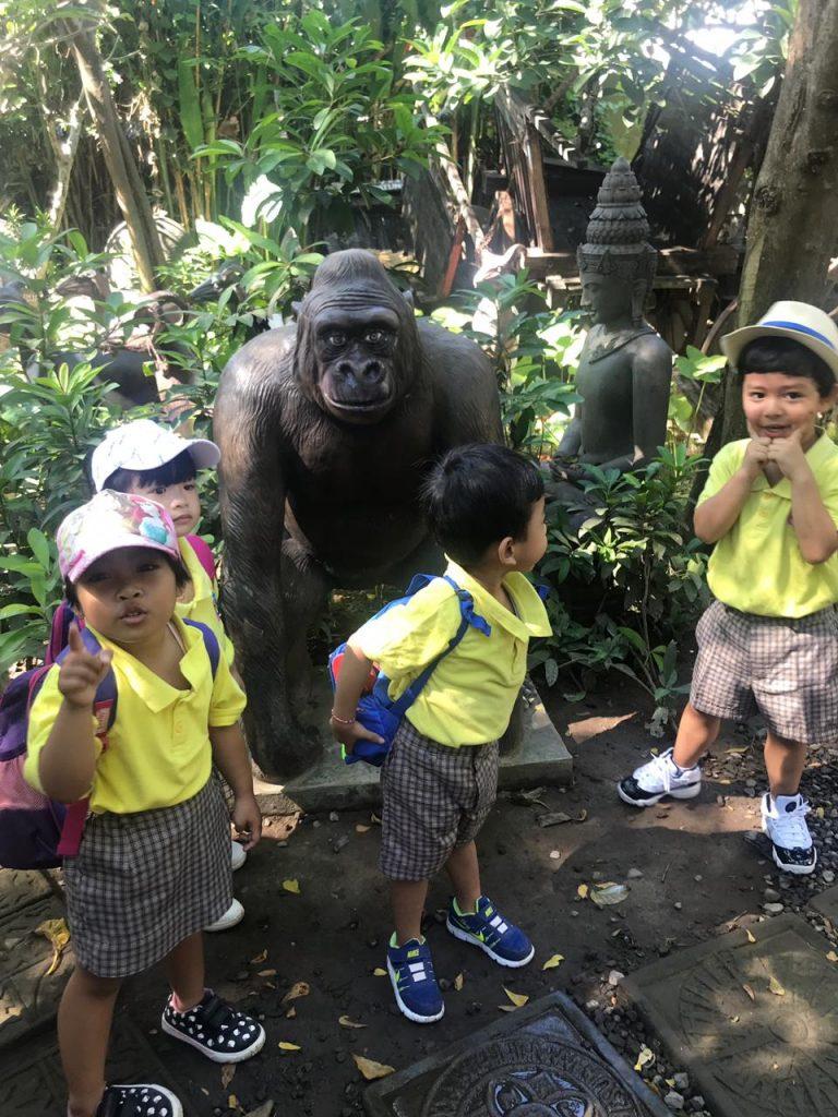 kids on field trips